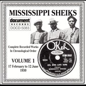 Mississippi Sheiks: Complete Recorded Works, Vol. 1 (1930)