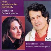 Mendelssohn: Works for Cello and Piano / Heled, Dinnerstein