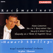 Rachmaninov: Piano Concertos 1 & 4, etc / Shelley, Thomson