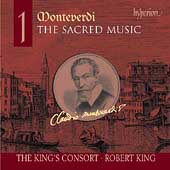 Monteverdi: Sacred Music Vol 1 / Robert King, King's Consort
