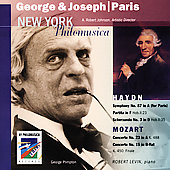 Haydn: Symphony no 87, etc;  Mozart / Johnson, Levin, et al