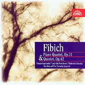 Fibich: Piano Quartet, Piano Quintet / Lapsansky, et al