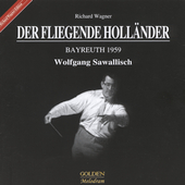Wagner: Der Fligende Holländer / Sawallisch, London, et al