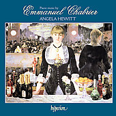 Piano Music by Emmanuel Chabrier / Angela Hewitt