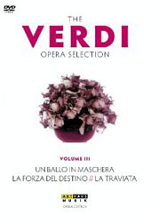 The Verdi Opera Selection Vol. 3 - Un Ballo in Maschera; La Traviata; La Forza del Destino / Domingo, Gheorghiu, Urmana, Guelfi [4 DVD]