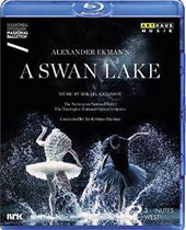 Ekman: 'A Swan Lake', ballet after Tchaikovsky / Norwegian National Ballet & Opera Orch.; Skalstad. Music by M. Karlsson [Blu-ray]