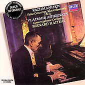Rachmaninov: Piano Concertos 2 & 4 / Ashkenazy, Haitink