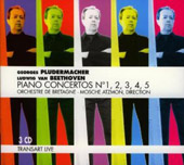 Beethoven: Piano Concertos no 1-5 / Pludermacher, et al