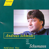 Schumann: Dichterliebe / Andreas Schmidt, Rudolf Janson
