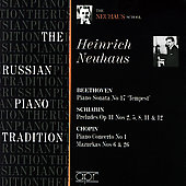 The Russian Piano Tradition - Heinrich Neuhaus