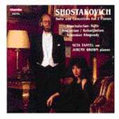 Shostakovich: Suite, Concertino for 2 Pianos / Tanyel, Brown