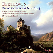 Beethoven: Piano Concerto no 2 & 3 / Osorio, Fuente, Mexico City PO