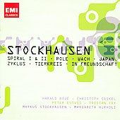 Stockhausen: Spiral, Japan, Zykus, etc / Caskel, Fry, et al