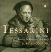 Tessarini: Sonatas For Transverso / Il Bell'accordo Ensemble