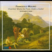 Francesco Molino: Chamber Works For Flute, Violin