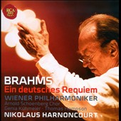 Brahms: Ein Deutsches Requiem Op. 45 / Harmoncourt