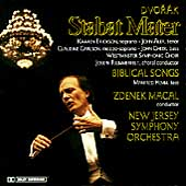 Dvor&#225;k: Stabat Mater, etc / Macal, New Jersey Symphony