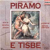 Hasse: Piramo e Tisbe / Schneider, Schlick, Monoyios, et al