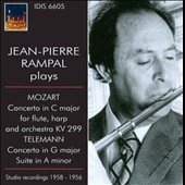 Jean-Pierre Rampal Plays Mozart & Telemann