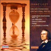 Liszt: Orchestral Pieces [4 CDs]