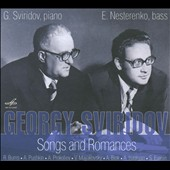 Song and Romances: Works by Burns, Pushkin, Prokofiev, et al. / E Nesterenko, bass; G. Sviridov, piano