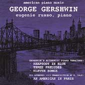 American Piano Music - Gershwin / Eugenie Russo