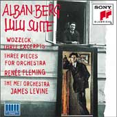 Berg: Lulu Suite, Wozzeck Excerpts, Three Pieces / Levine