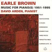 Brown: Music for Piano(s) 1951-1995 / David Arden