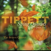 Michael Tippett: String Quartets Nos. 1-4 / Britten Quartet