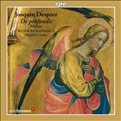 Josquin Desprez: Psalm Settings / Weser-Renaissance Bremen, Manfred Cordes