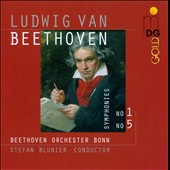 Beethoven: Symphonies Nos. 1 & 5 / Beethoven Orchestra Bonn, Blumier
