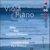 Bax, Bliss, Vaughan Williams: Sonatas and Suite for Viola and Piano / Christian Euler, viola; Paul Rivinius, piano