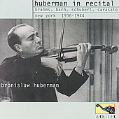 Huberman in Recital - New York 1936-44