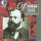 Dvorak: Piano Quartets Op 23 and 87 / Ames Piano Quartet