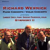 Wernick: Piano Concerto, Violin Concerto / Rachleff, et al