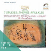 Stravinsky: Agon; Schüller: Seven Studies on Themes of Paul Klee