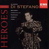 Heroes - Giuseppe di Stefano - Donizetti, Leoncavallo, et al