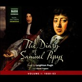 Various Artists: The  Diary of Samuel Pepys, Vol. 1: 1660-63