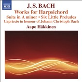 J.S. Bach: Works for Harpsichord / Aapo Häkkinen, harpsichord