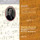 The Romantic Piano Concerto 20 - Brüll / Brabbins, Roscoe