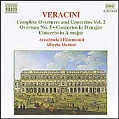 Veracini: Complete Overtures and Concertos Vol 2