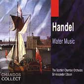 Handel: Water Music / Gibson, Scottish Chamber Orchestra