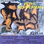 Kupferman: Orchestral Music Vol XV / Fulkerson, Vassiliades