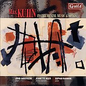 Kuhn: Songs and Instrumental Works / Anderson, Ager, et al