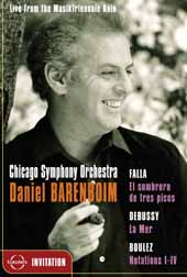 Daniel Barenboim & The Chicago / Elisabete Matos, Mezzo-Soprano [DVD]