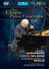Chopin: The Piano Concertos / Daniel Barenboim [DVD]