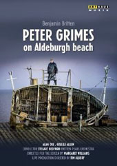 Britten: Peter Grimes (an open-air performance on Aldeburgh beach) / Alan Oke, Giselle Allen, David Kempster [DVD]