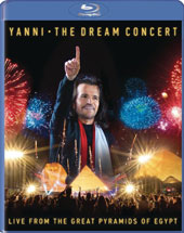 Yanni - The Dream Concert, Live from the Great Pyramids of Egypt / Adams, Brydern, Carder, Del Sol, Espinola, Freeman, Jelencovich, O'Brien, Simpson [Blu-ray]