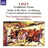 Liszt: Symphonic Poems / Michael Halász, New Zealand SO