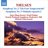 Nielsen: The Symphonies Vol 2 / Michael Schonwandt, Danish National SO, et al